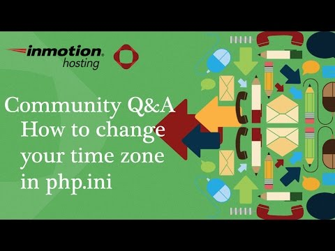 How to change your website timezone using the php.ini file