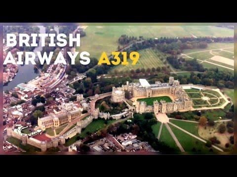 British Airways A319, Belfast City to London Heathrow - UK Domestic