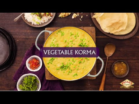 Vegetable Korma Curry