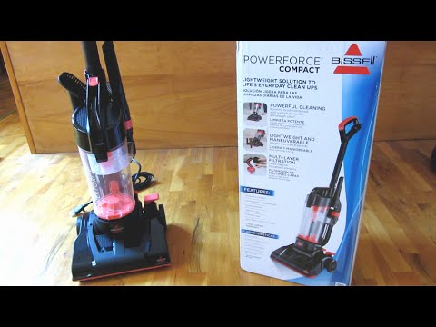 Bissell PowerForce Compact  - Step by Step Assembly of Vacuum