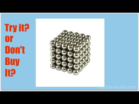 The Weirui Magnetic Cube : Try It or Don't Buy It | Sophie's World
