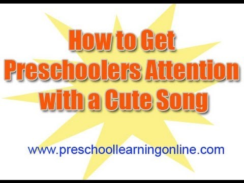 How to Get Preschoolers Attention | Get Kids To Listen