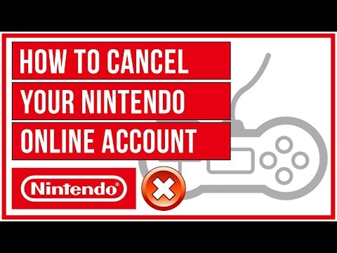 Nintendo Online - How To Cancel Your Account ❌