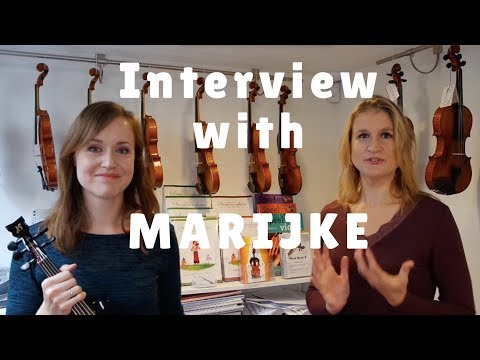Interview with Marijke about learning to play the violin as an adult