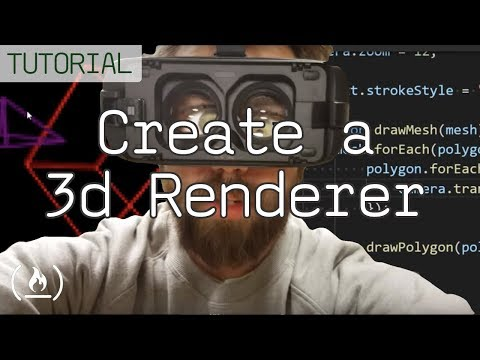 Create a 3D Wireframe Renderer - JavaScript Tutorial