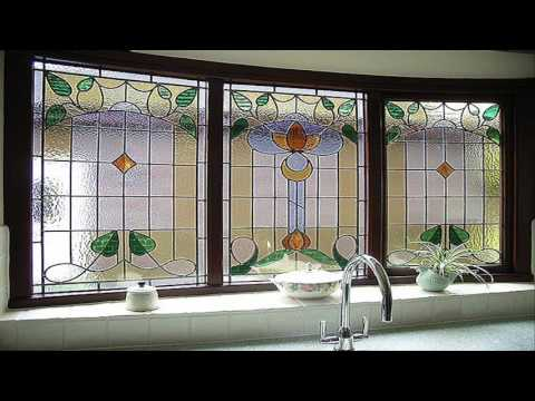 Stained Glass Bathroom Window Designs