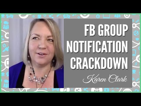 Facebook Groups Notification Crackdown: My opinion is this is a GOOD thing! (Direct Sales)