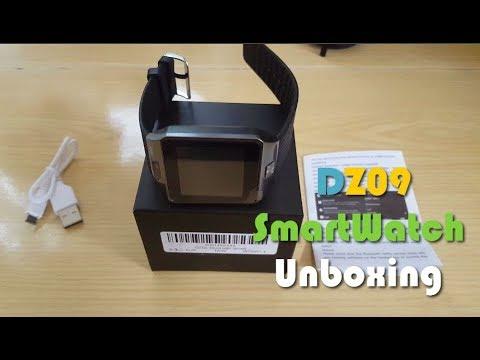 DZ09 Smartwatch Unboxing