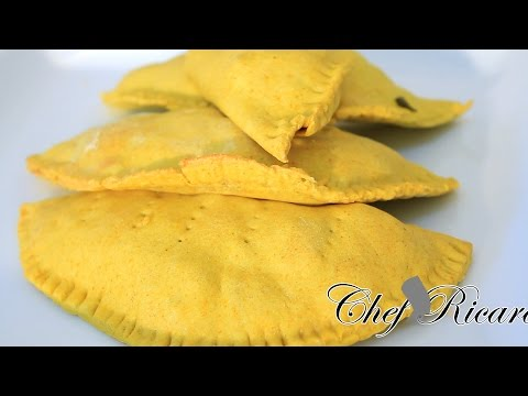Jamaican Beef Patties Recipe | Recipes By Chef Ricardo