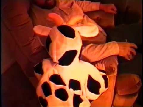 Cow Costume 10-31-1993