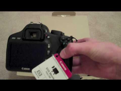 Canon EOS Rebel T2i Camera Unboxing