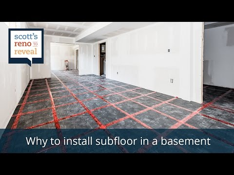 Why to Install Subfloor in a Basement