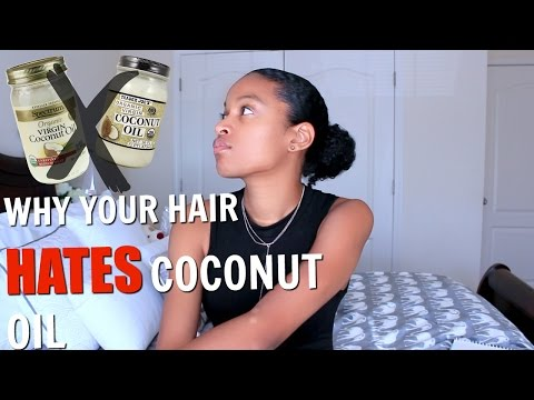 How To Tell If Your Hair Hates Coconut Oil|NATURAL HAIR