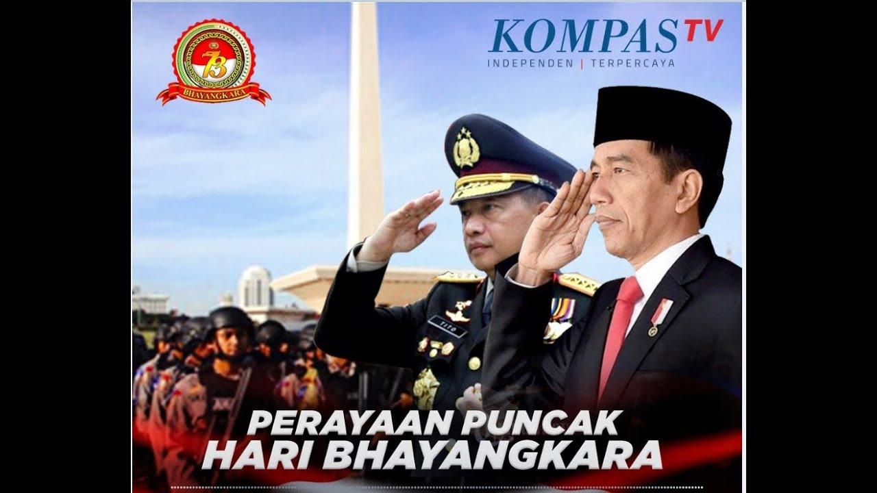 LIVE - FULL - Amanat Presiden Jokowi di Hari Bhayangkara