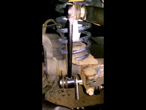Do it yourself quick release sway bar links