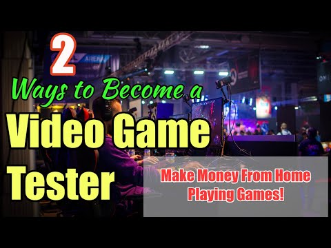 2 Ways to Become a Video Game Tester ~ #2 is Easiest and Best for Beginner