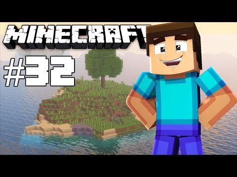 Getting all the quartz & Glowstone - Minecraft timelapse - Survival island III - Episode 32