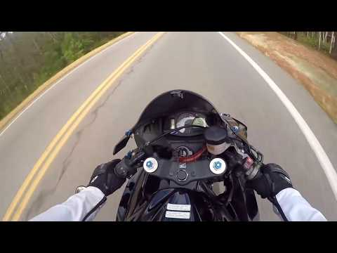 MOTORCYCLE PULLED OVER FOR SPEEDING 100+ MPH! // ALWAYS PULL OVER