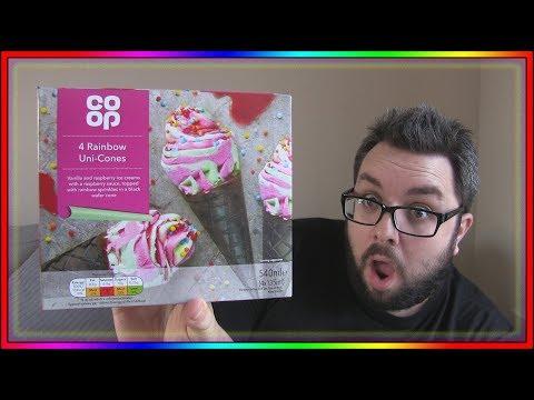 Co-op Rainbow Uni-cones Review