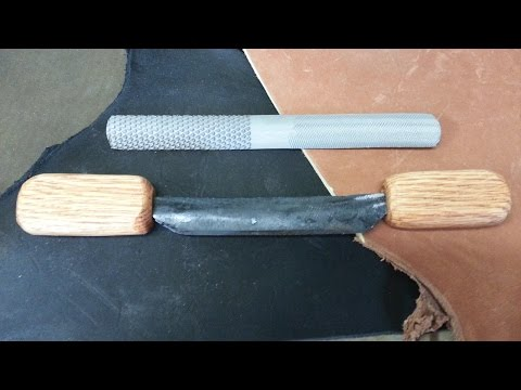 Draw knife from a 4 way rasp