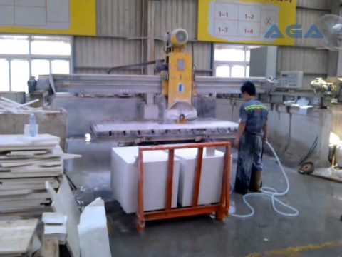 Bridge Saw Machine Cutting Granite Marble Slabs HQ400-600 AGA