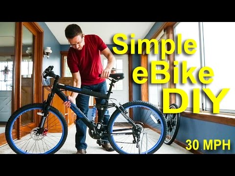 How to make an electric bike for under $500! Fast & Cheap eBike tutorial!