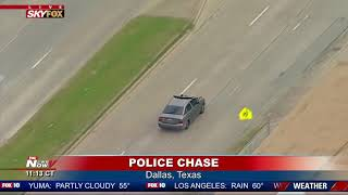 MUST WATCH: Police Chase In Dallas, Texas