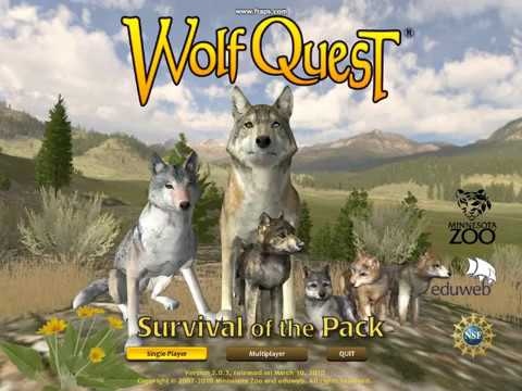 How To Get A Mate And Pups (in wolfquest 2.5)