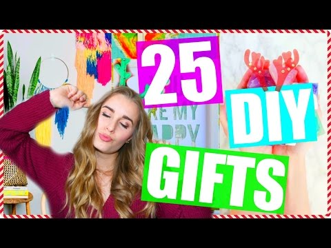 25 DIY Christmas Gift Ideas You NEED to Know!