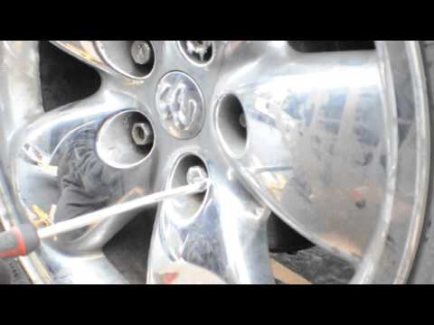 How To Remove Chrome Caps From Lug Nuts