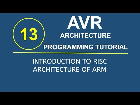 Embedded Systems Programming with AVR 12- Data Processing and Data Movement Instruction Set in AVR