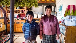 Bhutan Food at Culture at Local Farm Village in Phobjikha Valley, and a YAK BURGER! (Day 15)
