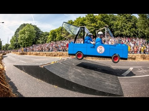 Best Crashes - Red Bull Soapbox Race 2013 London