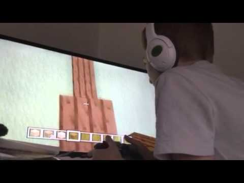 Building   hide and seek map for ninja boy