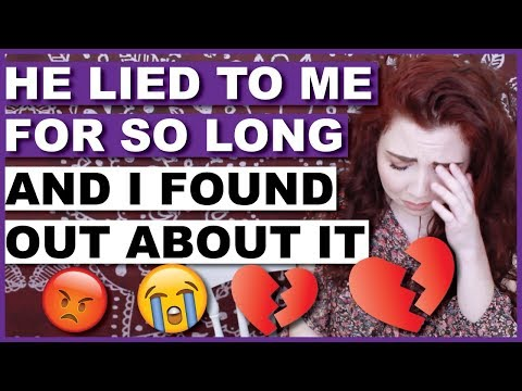 My Boyfriend Told Me A HUGE LIE And I Found Out