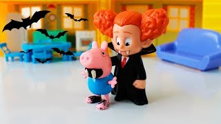 Melhores do Ano: Pig George da Familia Peppa Pig vira um VAMPIRO!!!