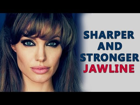 How To Get A Sharp Jawline And Cheekbones With These Exercises Without Surgery