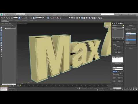 Using TextPlus in 3ds Max - Overview