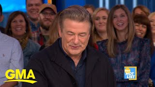 'GMA' Hot List: Actor Alec Baldwin and his wife expecting their 5th child l GMA Digital