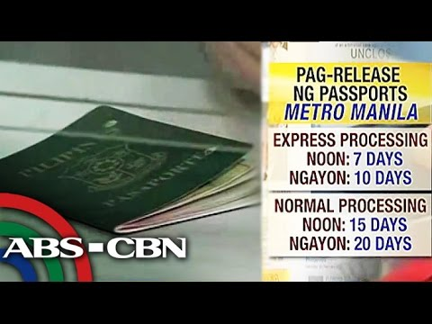 Expect slow passport release as DFA upgrades system