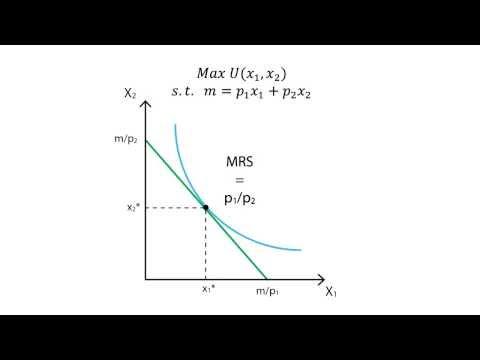 A.6 Utility maximisation | Consumption - Microeconomics
