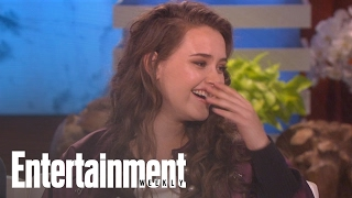 Ellen DeGeneres Makes '13 Reasons Why' Star Cry Over Lady Gaga | News Flash | Entertainment Weekly