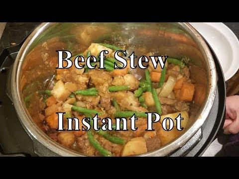 Beef Stew- Instant Pot