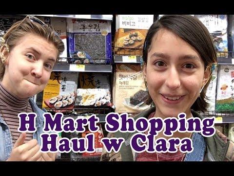 H Mart Shopping Haul #2 w Clara