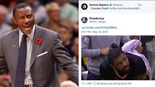 Raptors Give AWKWARD Shout Out To Coach Dwane Casey DAYS after FIRING Him!