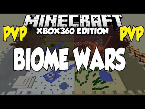 Minecraft [XBOX360] 4 Biome PVP Arena - Biome Wars