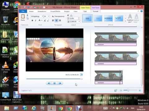 Windows Live Movie Maker How to Hide Blur Censor Pixelate Cover Private Info Urdu/Hindi