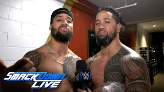 The Usos are ready for a Bludgeoning: SmackDown Exclusive. April 10, 2018