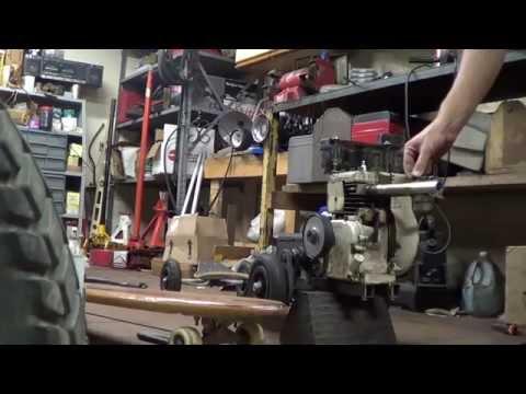 Motorized skateboard 2.0 rear truck build