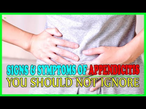 Signs And Symptoms Of Appendicitis You Should Not Ignore! | Best Home Remedies